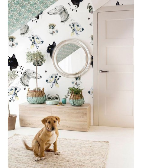 CATS&DOGS Papel pintado