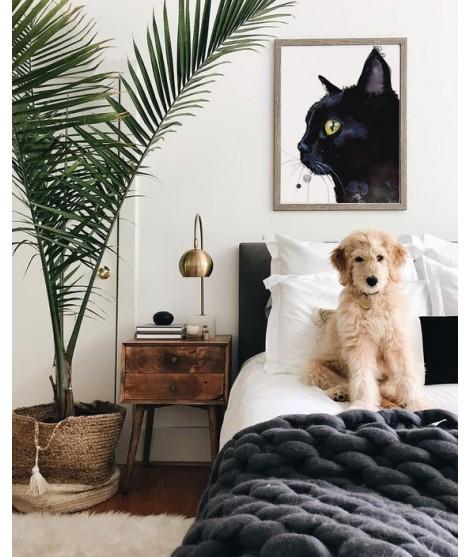 Cuadro CAT NOIR