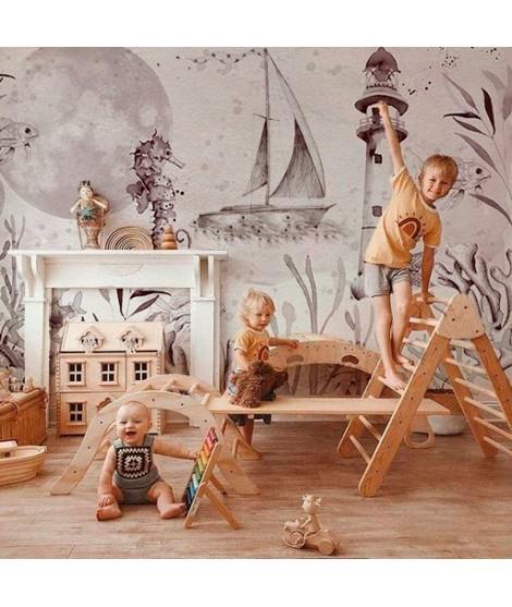 MAR Mural de papel pintado