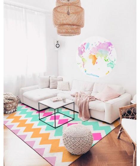 Carpet COLORS ZIGZAG