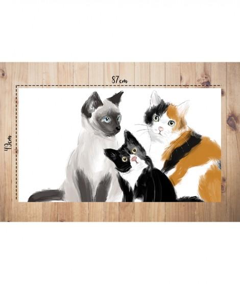 Cats MANTEL-TAPETE MASCOTAS