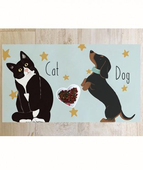 Cat&Dog MANTEL-TAPETE MASCOTAS