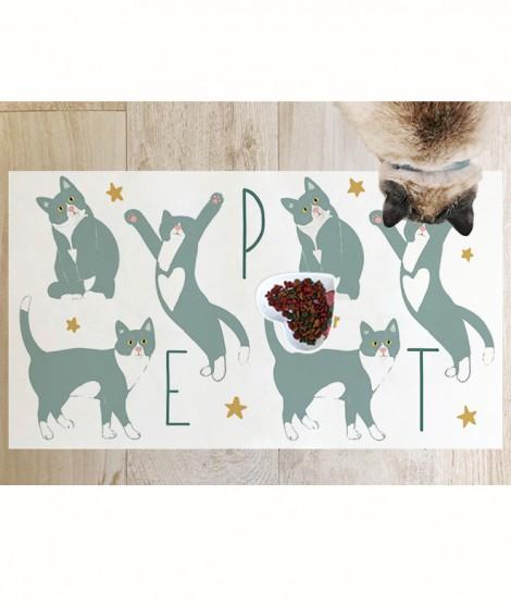 Cat V MANTEL-TAPETE MASCOTAS