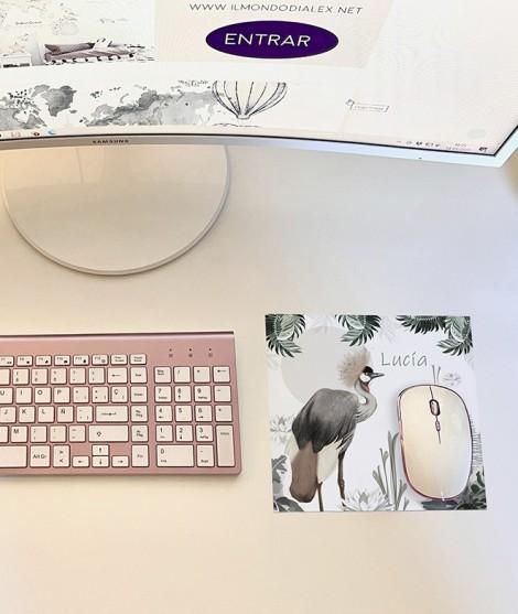 Alfombrilla ratón AVES DEL PARAÍSO