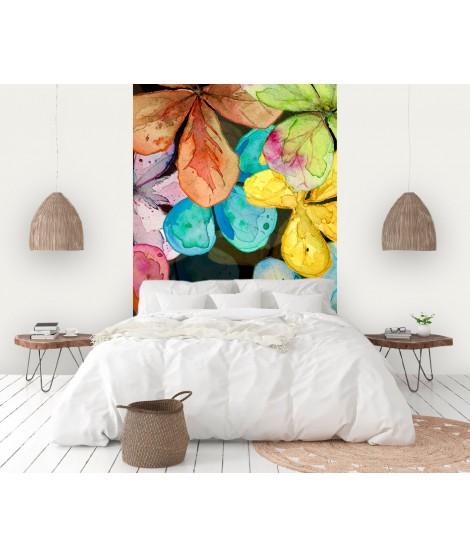 Panorámico de papel pintado FLORES DE COLORES