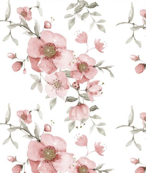 FLORES ROSAS Wallpaper