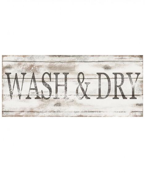 Letrero LAUNDRY WASH&DRY