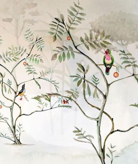 JARDÍN Mural de papel pintado