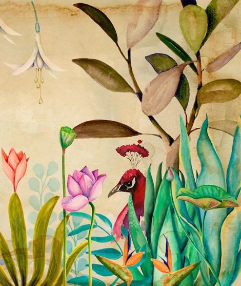PARAÍSO Mural de papel pintado