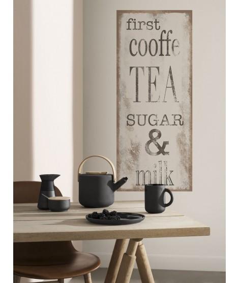 Cartello Decorativo COFFE TEA II