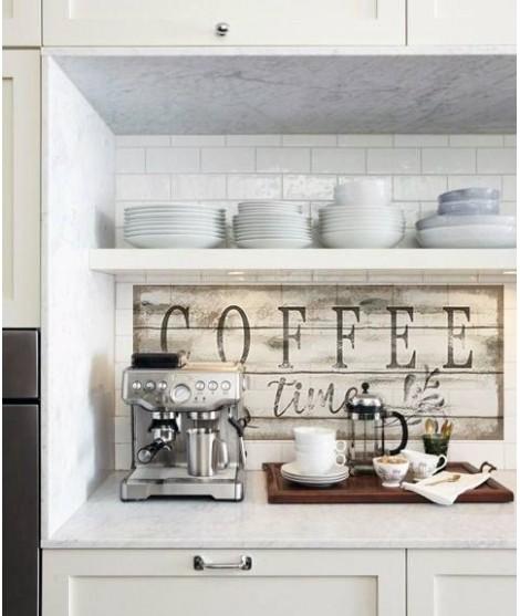Cartello Decorativo COFFEE TIME