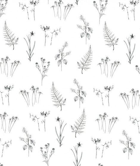 FLOWERS OF THE WOOD Wallpaper